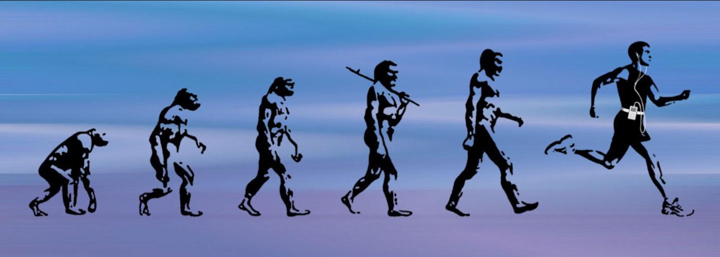 L'evoluzione dell'uomo passa anche attraverso la corsa
